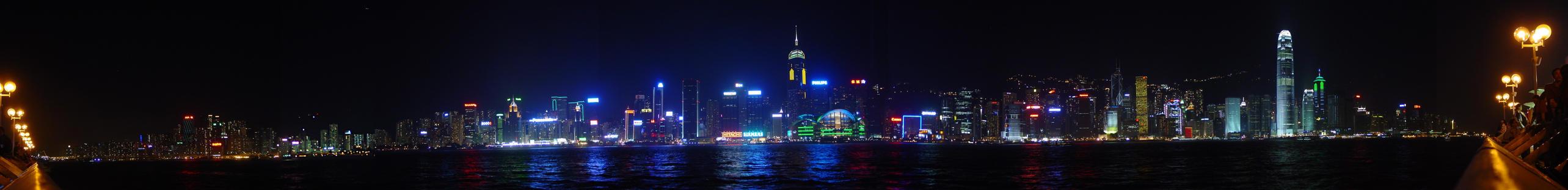 Hong Kong Bay by arcanjel