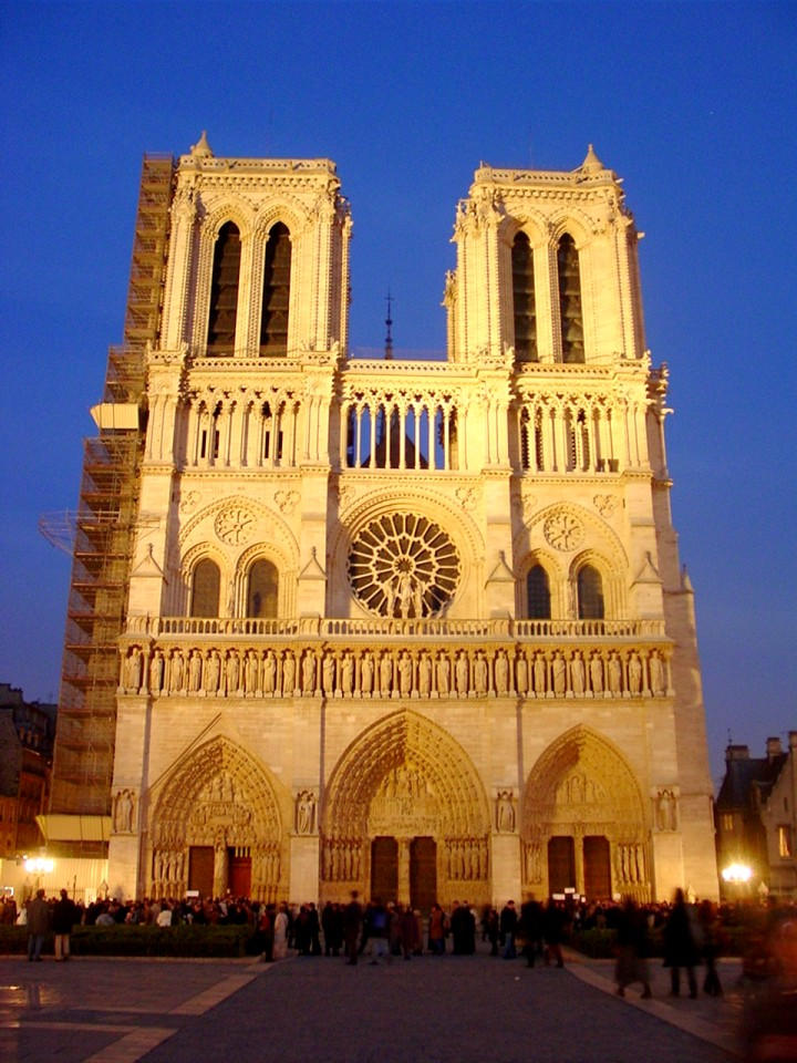 Notre Dame by arcanjel