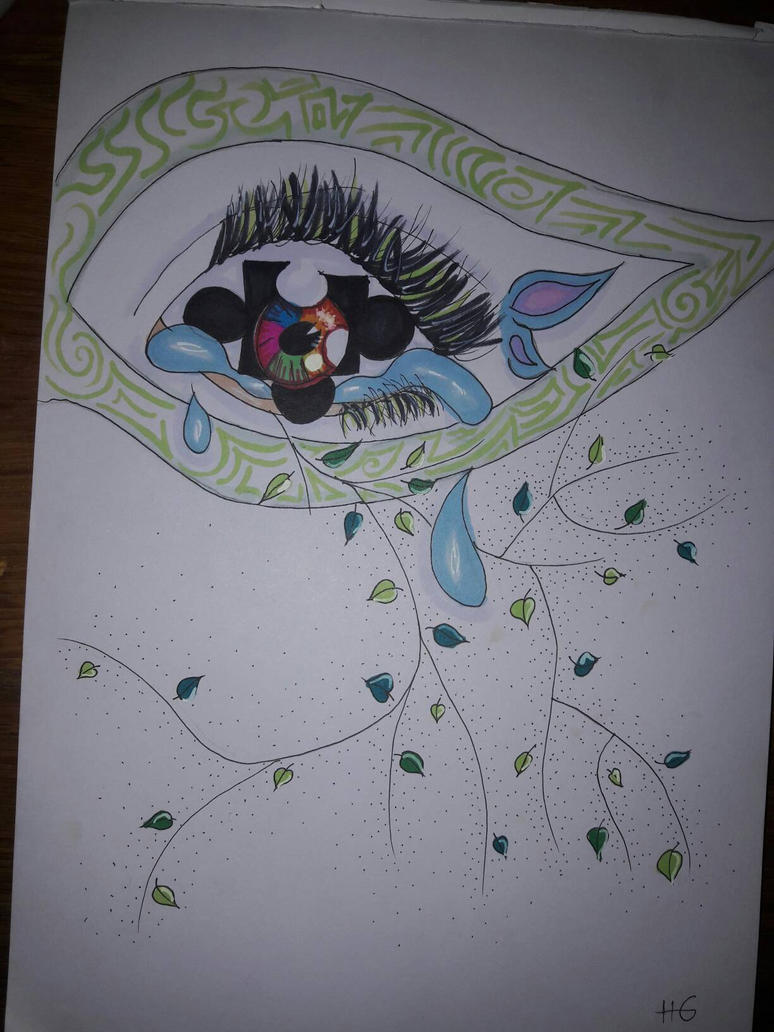 tree of sadness by izeratjuh