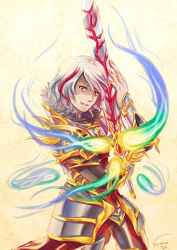 Brave Frontier - Day 17 Challenge - Narza