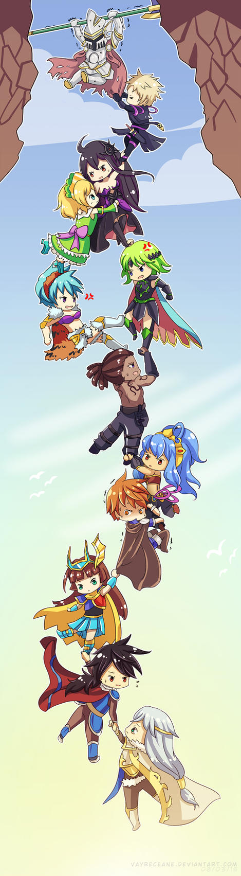 Brave Frontier - Hold On! by Vayreceane