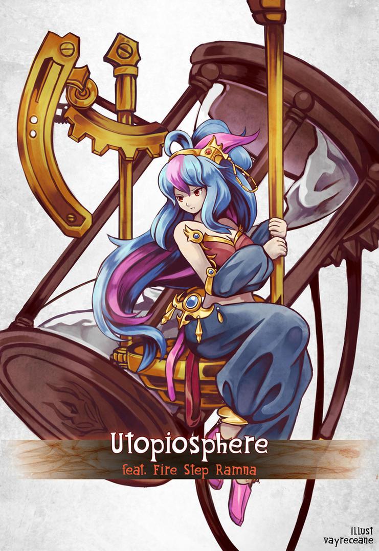 Brave Frontier / Deemo - Utopiosphere by Vayreceane
