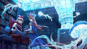 Brave Frontier / King's Raid - Underwater Library