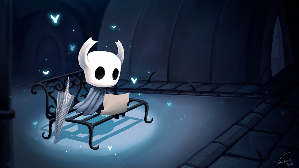 Hollow Knight - Dirtmouth by Vayreceane