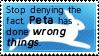 Dear Hippy Vegetarian PETA Members by ZoeyHedgie453