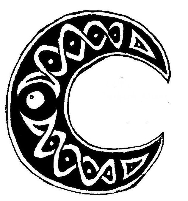 Celtic Crescent Moon by Jocossie on DeviantArt