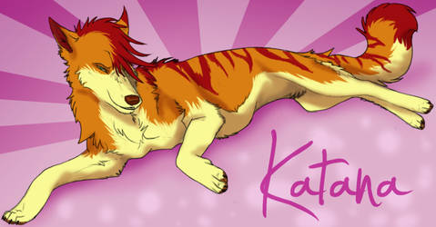 Katana By DawnFrost by KatanaBanana