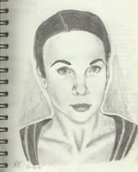 141010 Amanda Abbington (kinda) by AkiBrocoli