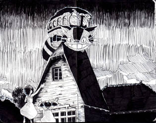 Moleskine #1 - Catbus by AkiBrocoli