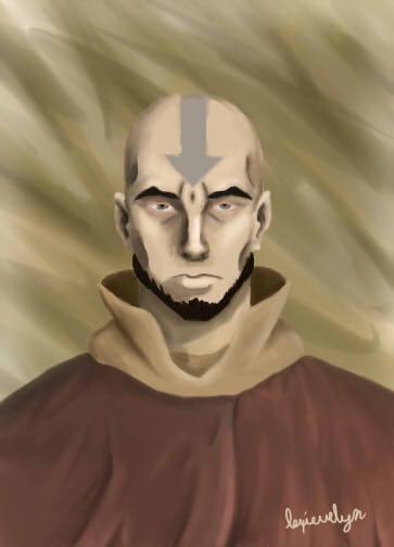 Avatar Aang by EevyLynn