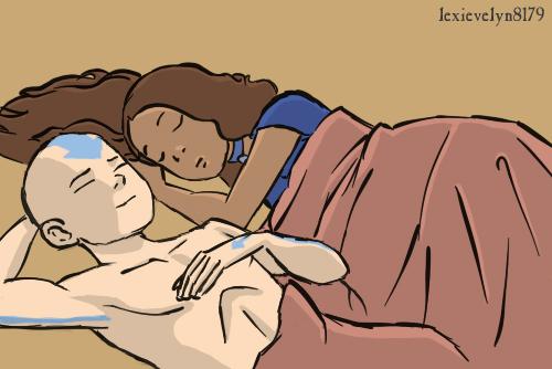 Kataang Cuddle Time by EevyLynn