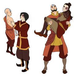 Aang and Zuko dynamic change