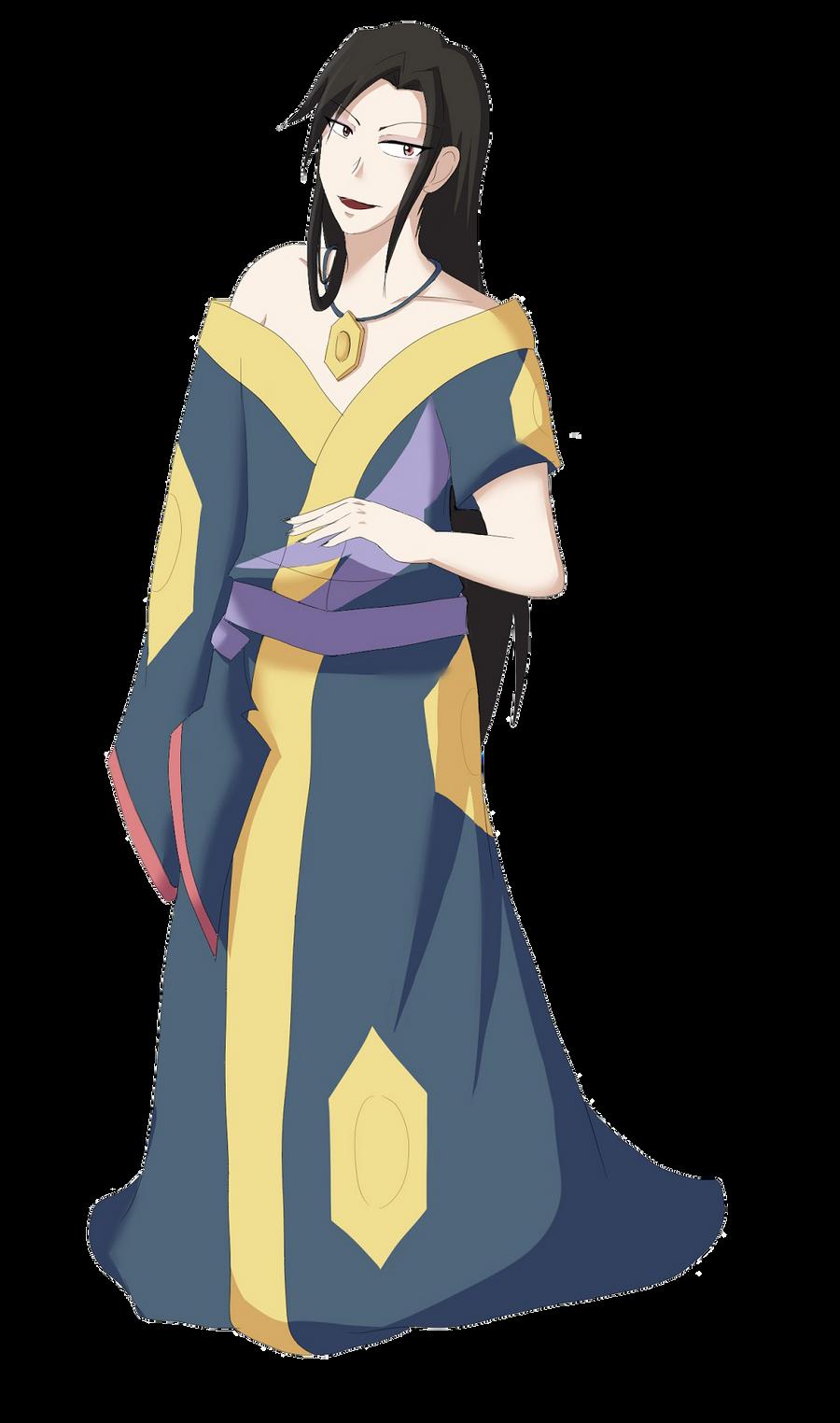 Seviper Gijinka by Tsukiyoumi