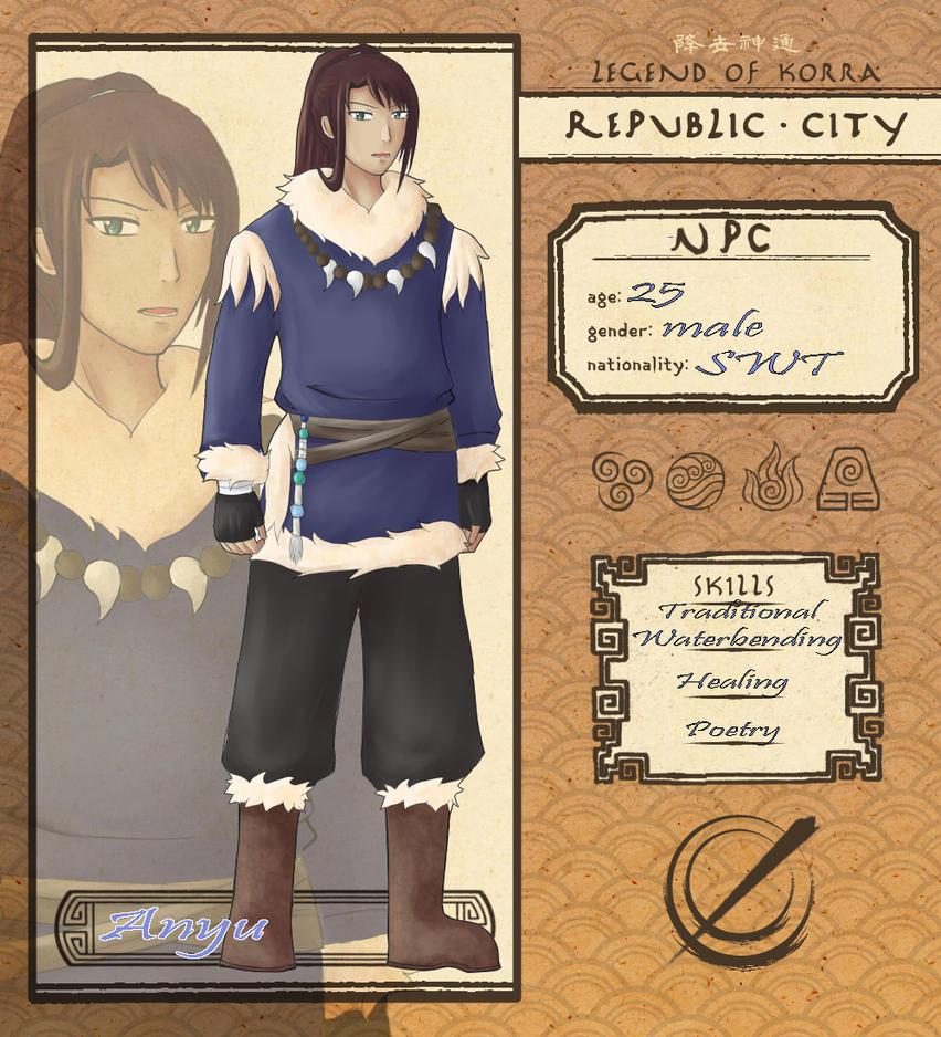 RC NPC: Anyu by Tsukiyoumi