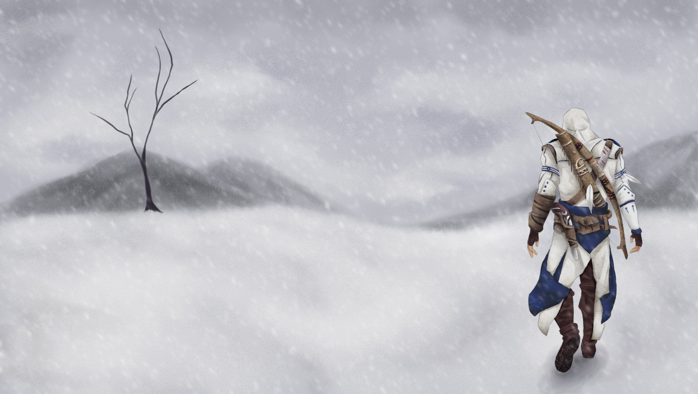 Assassin's Creed 3 winter by Manmanlai