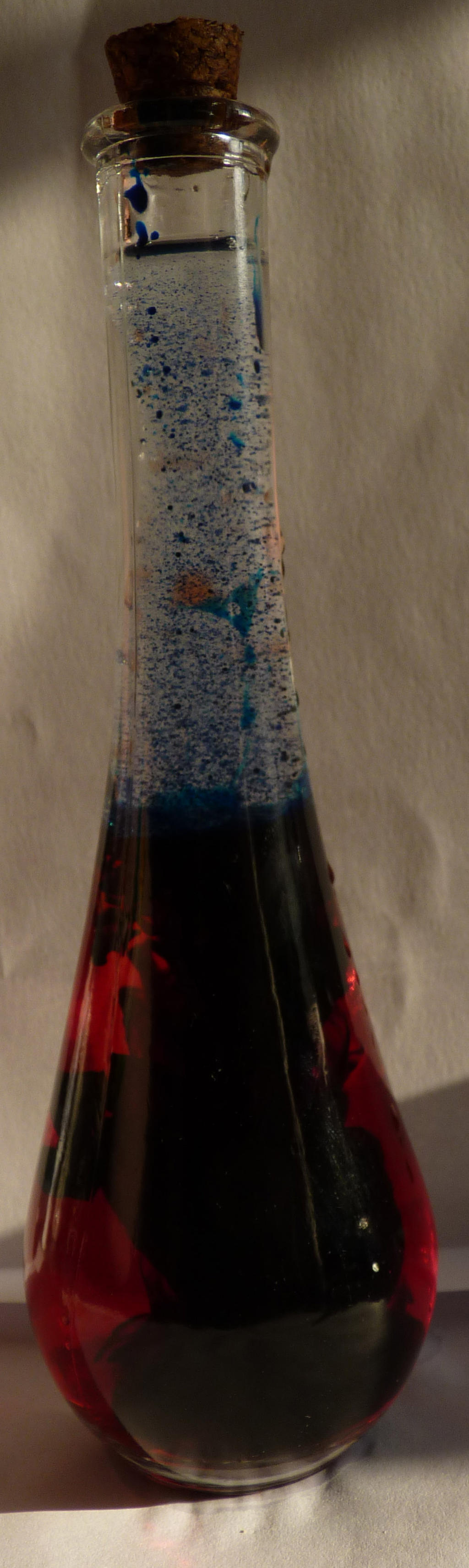 Funky Red/blue Potion by LW-Lucy