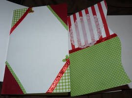 Cards IN progress For Holiday Card Project