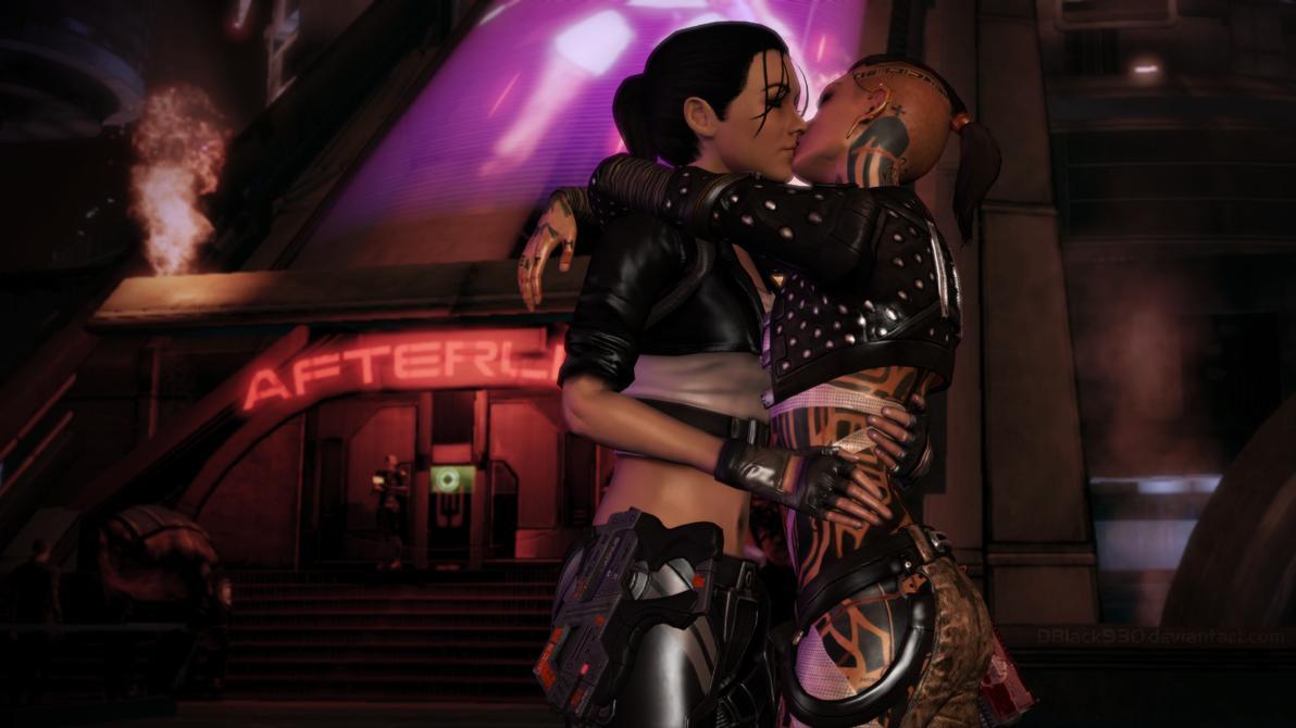 My Mass Effect World =): Jack & Shepard