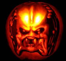 Predator Pumpkin by born-flyer
