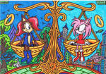 Sally Acorn * Amy Rose - The Balance Of Reputation