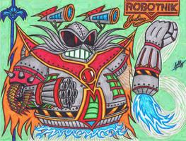 Sonic SatAM - Dr. Mecha Robotnik by AceOfSpeed94