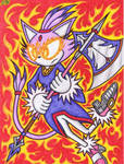 The Flaming Anger Of Blaze The Cat