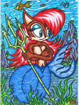.:Request:. Sally Acorn The Mermaid Squirrel