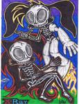 Sonic Radiology - Sally Acorn With Bunnie Rabbot