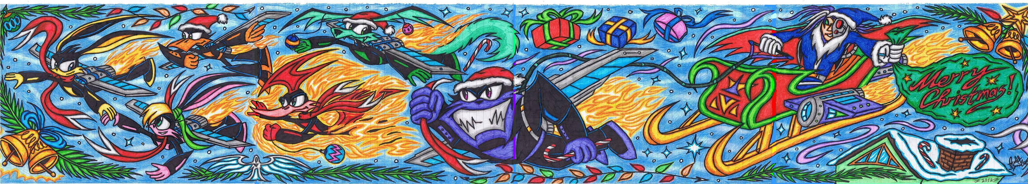 Loonatics Unleashed - Merry Christmas 2012!
