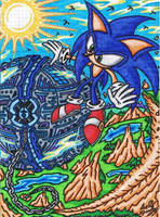 .:Request:. Sonic CD - Skydiving On The 2nd Planet by AceOfSpeed94