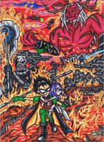 .:Teen Titans:. No Ending Without Daring To Hope by AceOfSpeed94
