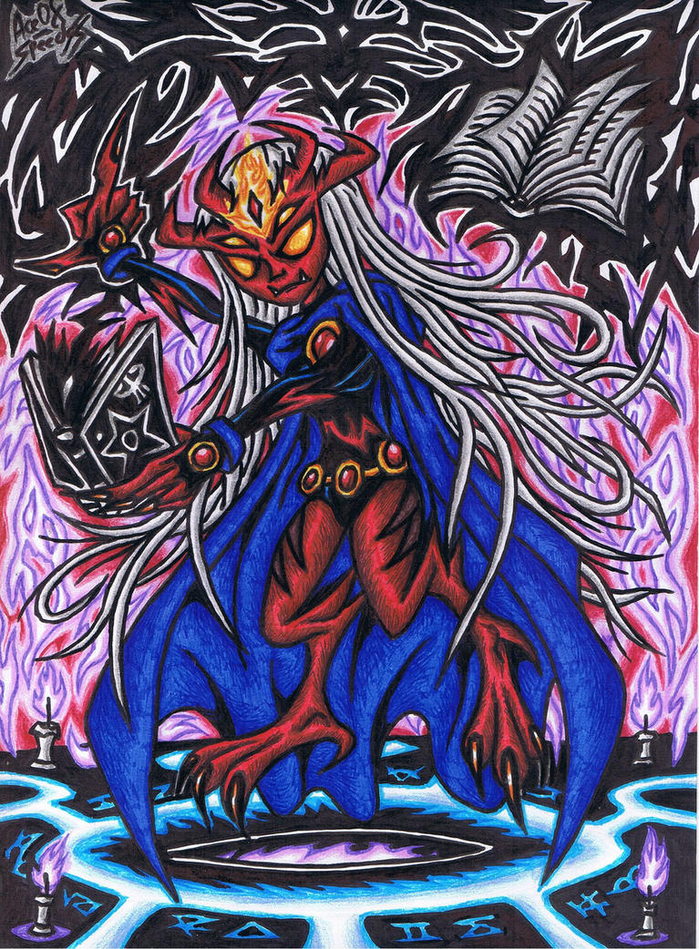 Teen Titans Go!:. Raven's Truly Demonic Form by AceOfSpeed94 on ...