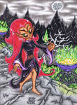 .:Art-Trade:. Wuya The Heylin Witch by AceOfSpeed94