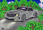 Vehicle-Comission: Chevrolet Camaro 2008 The Bruce by AceOfSpeed94