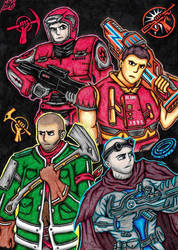 :Red Faction: All Game Protagonists Picture