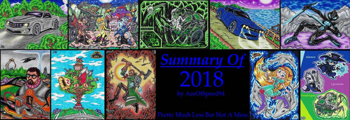 AOS94 :My Collection Summary Of 2018: