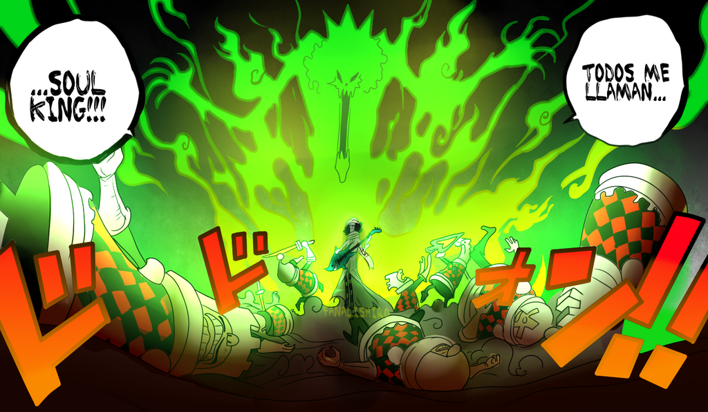 SOUL KING (One Piece CH. 848) by FanaliShiro on DeviantArt
