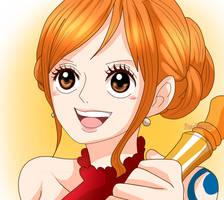 Nami (One Piece CH. 874) by FanaliShiro