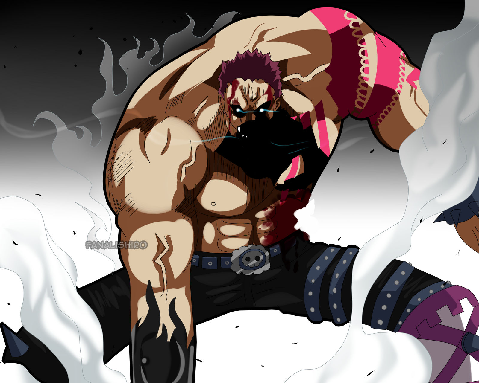 Charlotte Katakuri. (One Piece Ch. 895) by FanaliShiro on DeviantArt