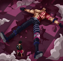 Katakuri falls (One Piece CH. 896) by FanaliShiro