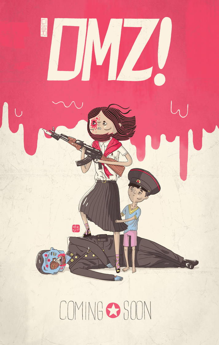 DMZ Teaser Poster by Fievel-the-Mouse