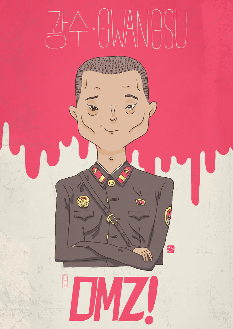 DMZ Character Poster #6: The Loyalist by Fievel-the-Mouse