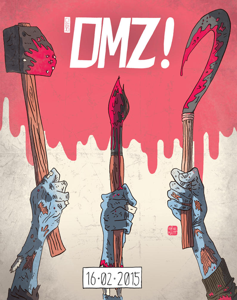 DMZ Final Teaser Poster by Fievel-the-Mouse