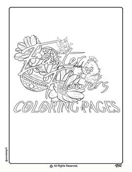 Easter Coloring Pages-0