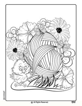 Easter Coloring Pages-2