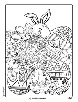 Easter Coloring Pages-3