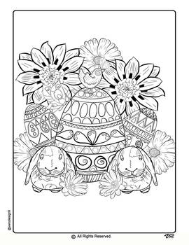 Easter Coloring Pages-4