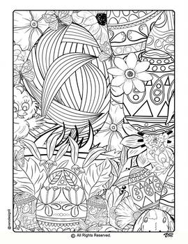 Easter Coloring Pages-5