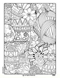 Easter Coloring Pages-6