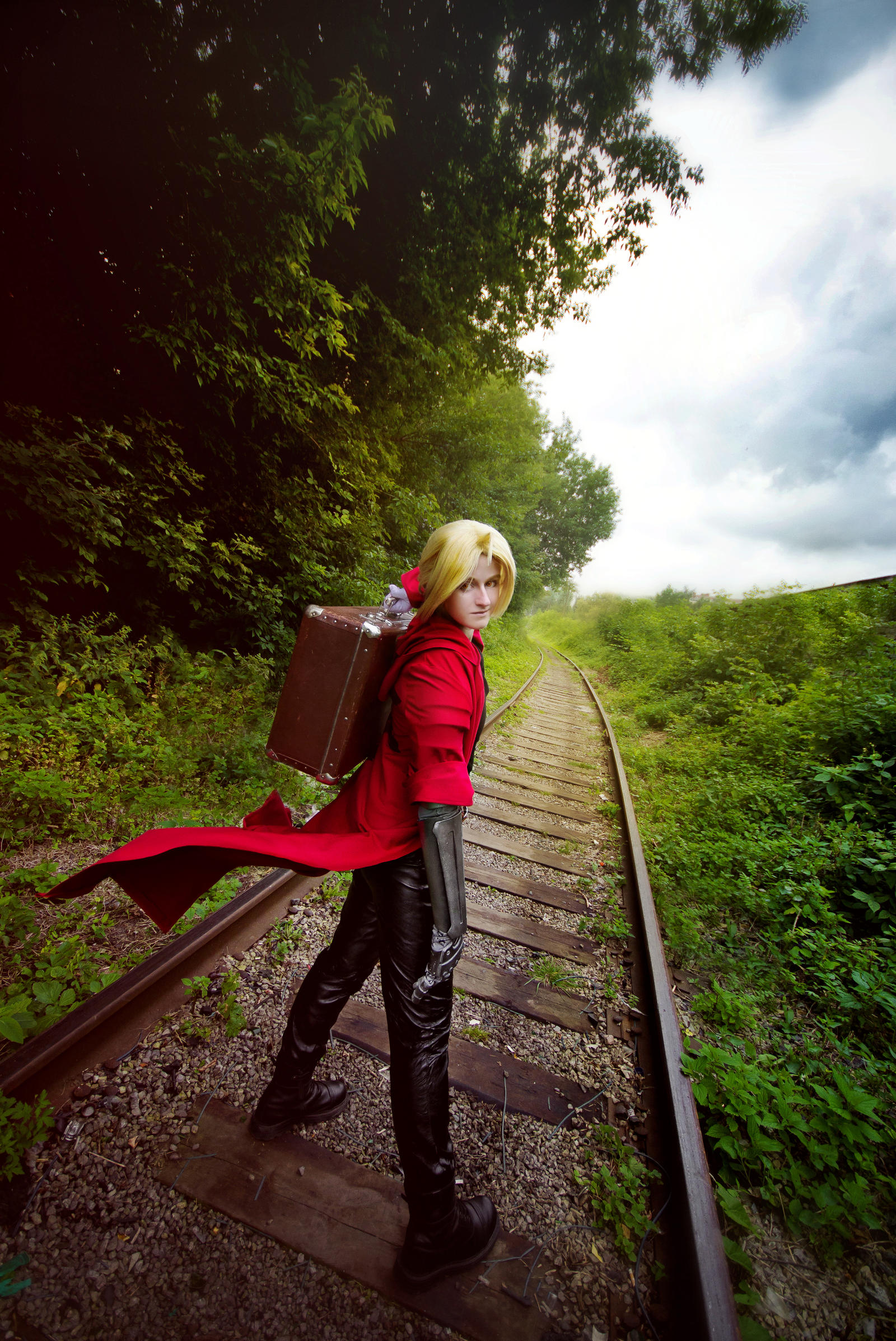 Edward Elric by Baxerenok